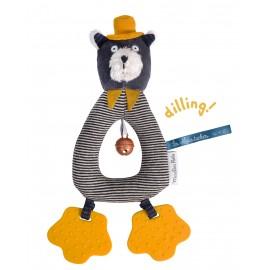 Anneau hochet chat Alphonse Moulin Roty